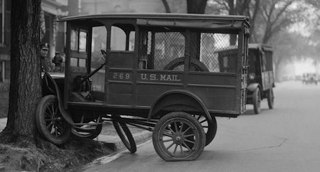 US Mail crash 1920s