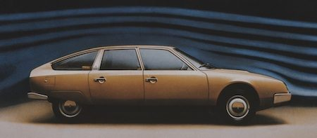Citroen CX luchtweerstand