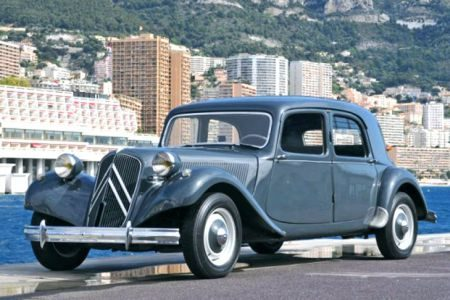 Citroen Traction  Prins Reinier Monaco