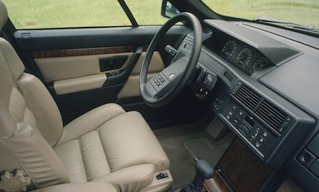 Citroen XM 1 interieur