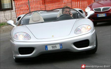 Ferrari 360 Barchetta Luca di Montezemolo