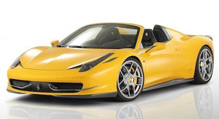 Ferrari 458 Spider met kietelspul van Novitec's Italia-afdeling