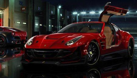 Ferrari F12berlinetta Gullwing FTW