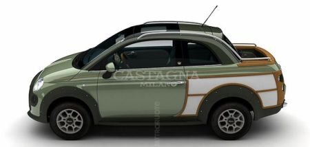Fiat Castagna 500 CrossUp Woody
