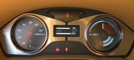 Dashboard Fisker-brick
