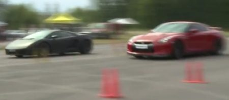 Gallardo vs GT-R, wie wint?