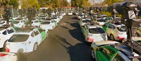Attack of the Clo... eh.. Street View Cars