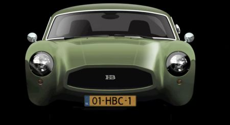 Huet Brother HB Coupe Concept teaser