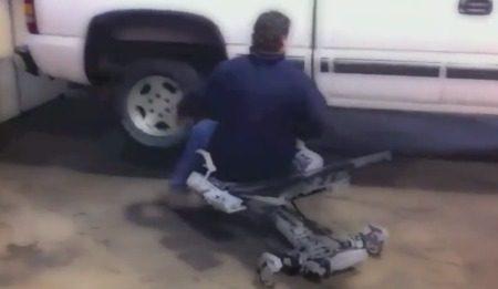Human Hoist-stoel