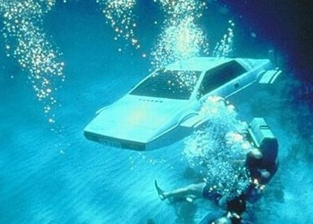 James Bond Lotus Esprit duikboot