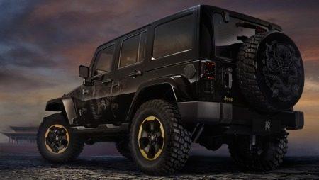 Dikke Dragon-Jeep