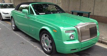Groene Roller is groen