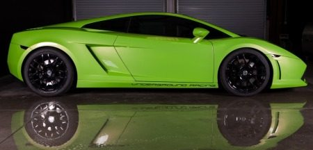 UGR Gallardo is groen