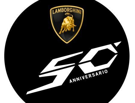 Lamborghini's jubileumlogo