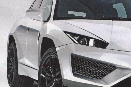 Lamborghini-SUV impressie - Quattroruote.it
