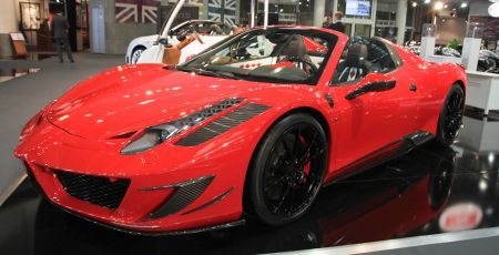 Mansory Siracusa Spider @ Top Marques 2012