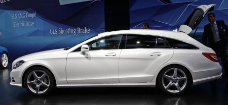 Mercedes CLS Shooting Brake @ Parijs 2012