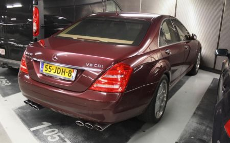 Mercedes S420 CDI is fout