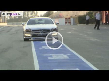 Mercedes SL63 AMG @ Barcelona - Video