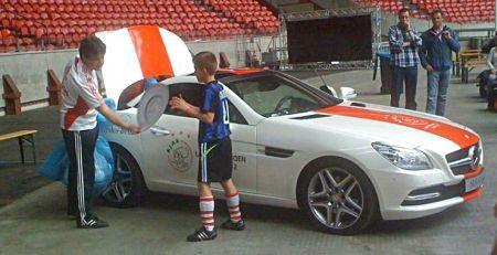 Mercedes SLK Ajax editie