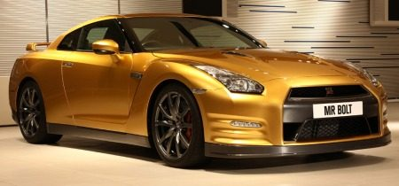 B-to-the-ling: gouden Nissan GT-R