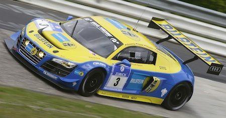Audi nummer 3 wint N24!