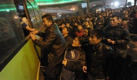 Chinezen willen bus in