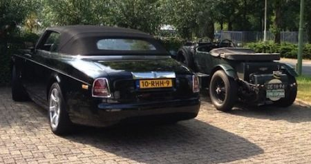 liever een Phantom DHC of Bentley 4,5?