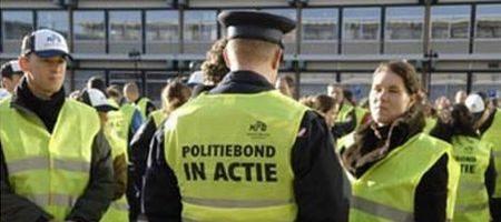 Politiebond in actie