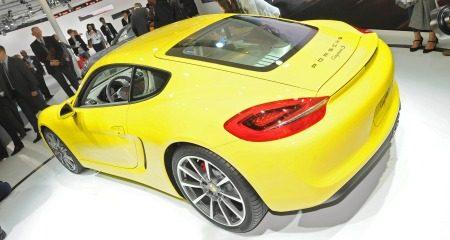 Geel is heet: Porsche Cayman S