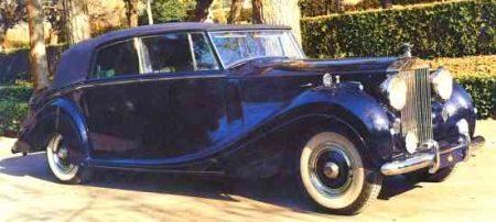 Rolls-Royce Phantom IV Mulliner Cabriolet (1954) - Spaans Koninklijk Huis