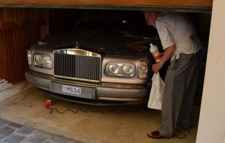 Rolls poetsopa is aandoenlijk