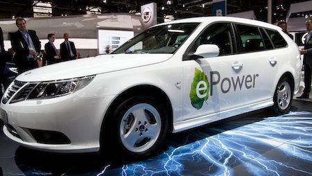 Saab gaat definitief elektrisch?