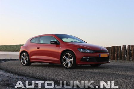 Volkswagen Scirocco - mooi rood is niet lelijk