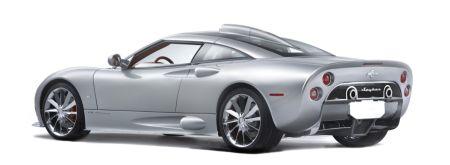 Spyker C8 Aileron. Zonder motor?