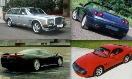 Auto's van de Sultan van Brunei
