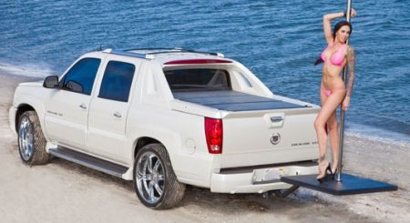 Stripper Pole Cadillac Escalade EXT