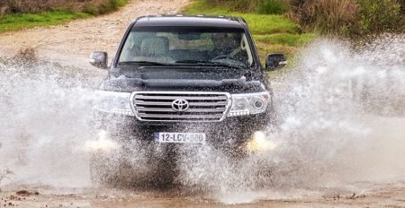 Toyota Land Cruiser V8 facelift