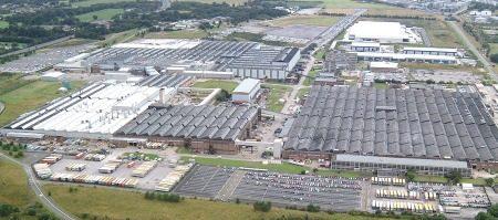 Vauxhall-fabriek in Ellesmere Port