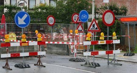 Chaos van verkeersborden