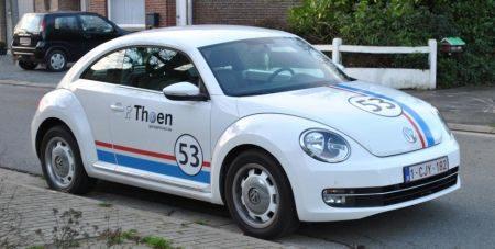 Volkswagen Beetle met Herbie looks