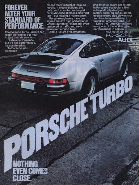 Porsche reclame 1977