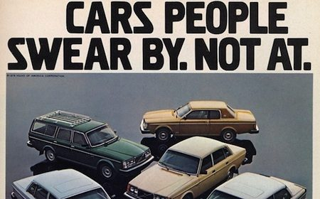 Volvo. Cars people swear by