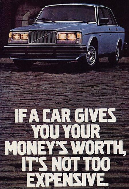 Volvo reclame 1981
