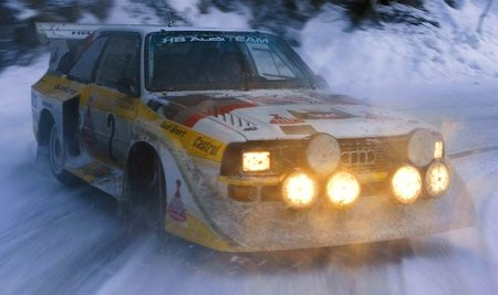 Audi Quattro is winterklaar