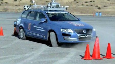 autonome auto van Google