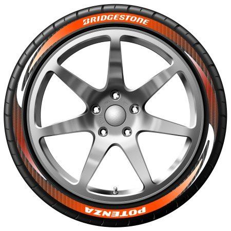 Bridgestone Potenza kleurig