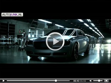 Video: Imported From Gotham City: Chrysler 300S [Batman]