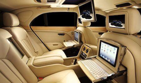 Bentley mulsanne krijgt een apple interieur for Auto interieur verlichting
