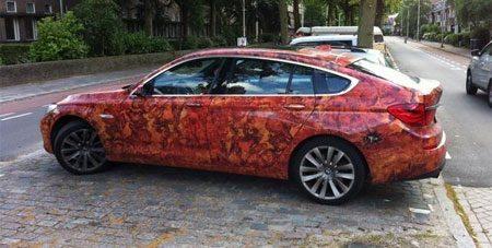 BMW 5GT wrap